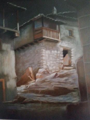 Título: Candelario Autor: María Luisa García Medidas: 65 x 40 Técnica: Pastel