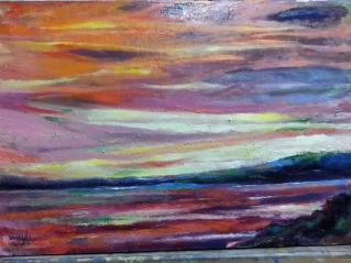 Autor: María Luisa García Medidas: 55x35 cm. Técnica: Óleo sobre lienzo.