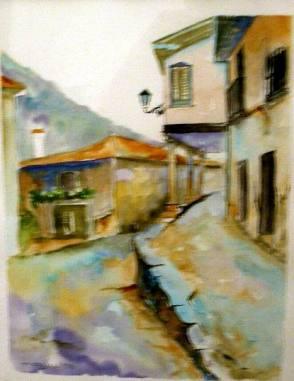 Título: Potes Autor: María Luisa García Medidas: 30 x 20 cm Técnica: Acuarela