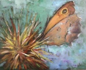 Autor: María Luisa García Medidas: 50 x 45 cm Técnica: Óleo sobre lienzo. -------ADQUIRIDO-------