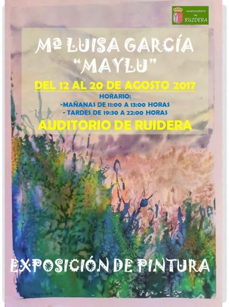 CARTEL EXPOSICION RUIDERA 2017