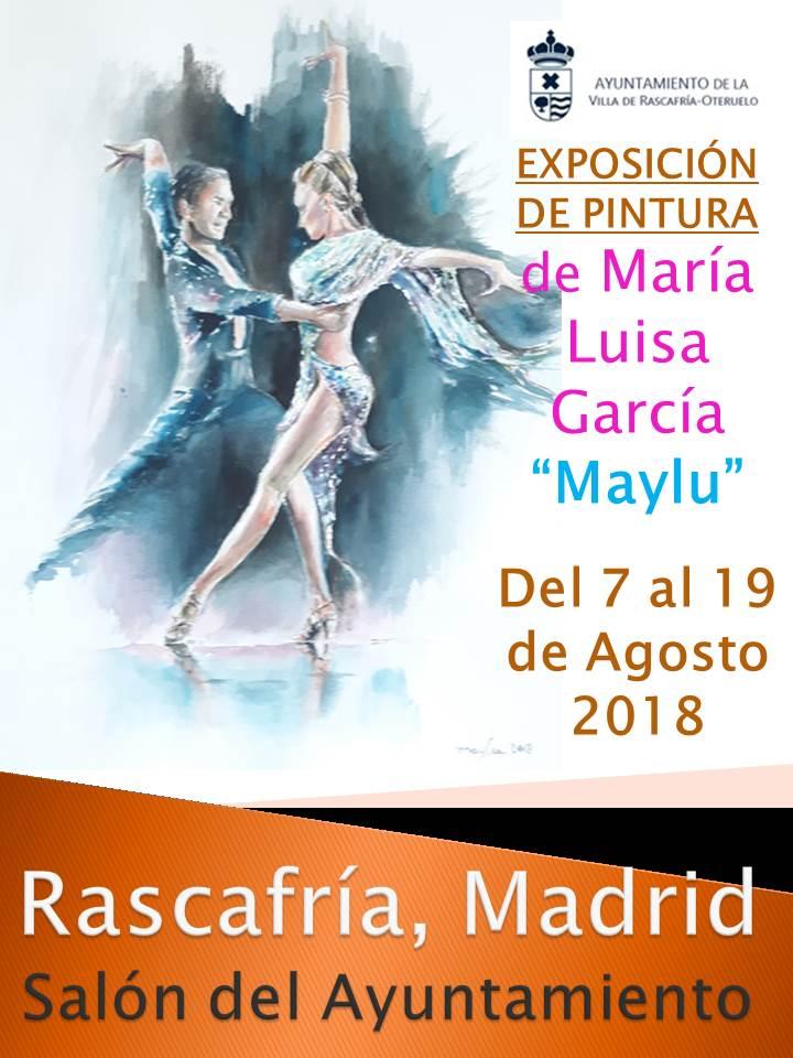 cartel exposición Rascafría 2018