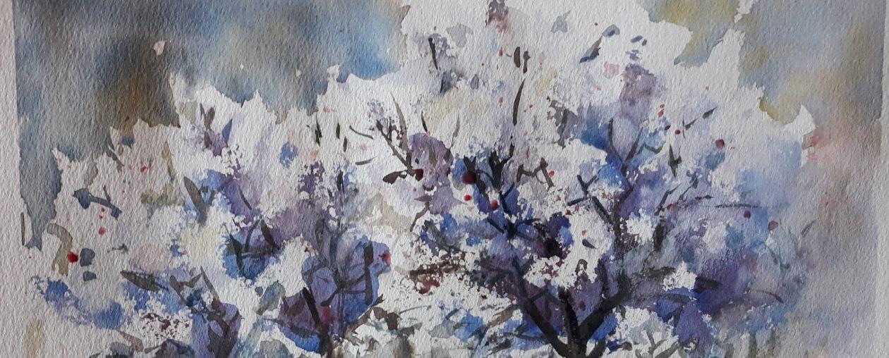 AURANTIA – Pintura artística de Maylu García